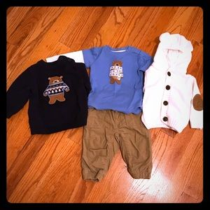Gymboree 4 Piece Outfit Bundle